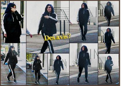 .08/02/2017 : La belle Kylie a été vue se rendant dans des locaux commerciaux dans West Hollywood Kylie ne cesse de porter des jogging en ce moment! Elle est toujours décontract' on a vu mieux. Qu'en pensez-vous de cet ensemble de sport ? .