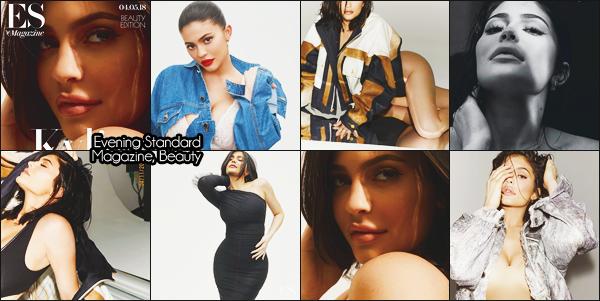 .+ MAGAZINE + — Kylie a posée pour le magazine  Evening Standard une édition spéciale basé sur la beauté + Suite a la sortie de sa nouvelle collection avec sa soeur. Kylie est en couverture d'un magazine de maquillage. Les clichés sont superbes! Des avis? .