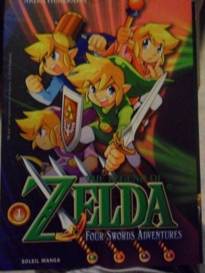 Manga Four Swords Adventures 1 (résumé incitatif + critique)