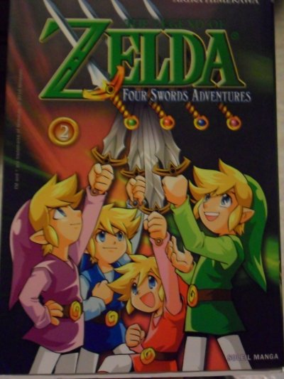 Manga Four Swords Adventures 2 (résumé incitatif + critique)