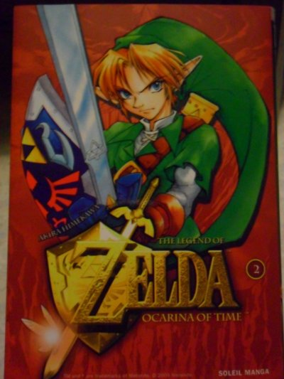 Manga Ocarina Of Time 2 (résumé incitatif + critique)