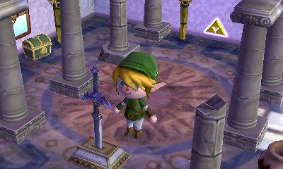 Clin d'oeil à The Legend of Zelda : Animal Crossing 3D