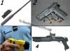 Les armes principale de la Gendarmerie: