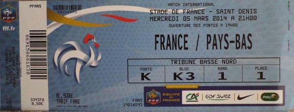 """en route pour mon ::: 201 éme match , pour : FRANCE / HOLLANDE  ,  ce 5 mars , au SDF , ou nous serons : 82 adhérents de """" Clément d'Antibes Associatio"""