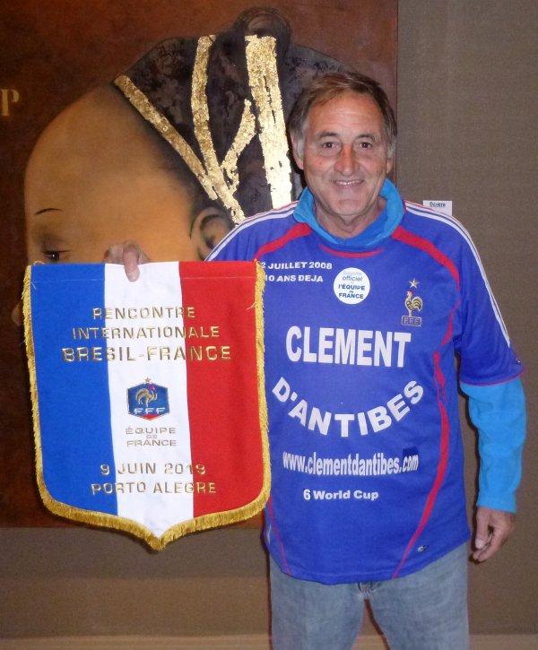 6 juin 2013 , ... aprés le 1ér match amical URUGUAY / FRANCE  à Montévidéo , la veille ...