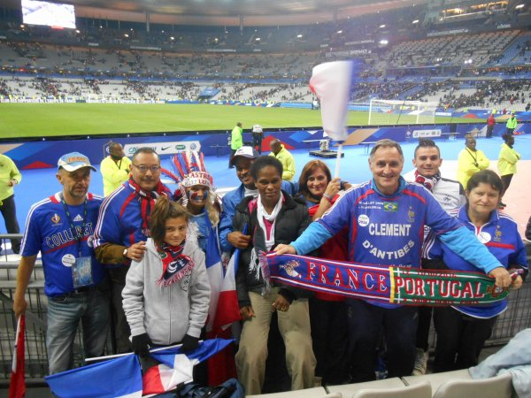 211éme match pour FR / PORTUGAL  à Paris .... et .........212éme match et 37éme pays visité , à EREVAN pour ARMENIE / FRANCE .....bientot visible car en cours de montage ...