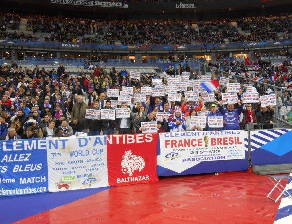 215 éme match pour  FRANCE / BRESIL  du 26 mars au SDF