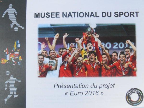 Interview / reportage pour le MUSEE  NATIONAL du SPORT  au Stade ALLIANZ  RIVIERA  de Nice a l'occasion de l' EURO 2016