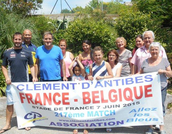 .. 217éme match pour ce France / BELGIQUE du 7 juin 2015  !!! ... le  74éme sur 78 au Stade de France ....et le : 791éme match des BLEUS  ....