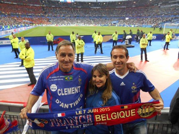 ..SUITE   ..... de FRANCE / BELGIQUE ..... avec mes amis supporters