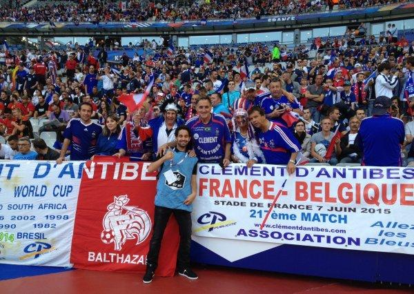 SUITE  ...... FRANCE / BELGIQUE ......... et 1ére défaite au Stade de France  : 3 à 4     !!!!!