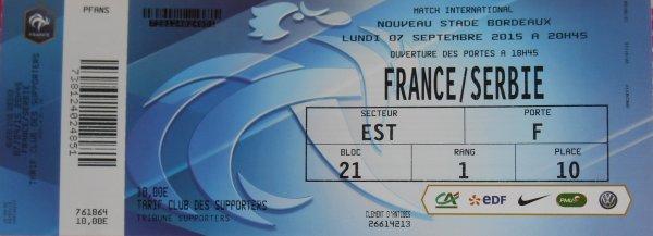 ... 219 éme match pour PORTUGAL/ FRANCE et 220éme pour FRANCE/ SERBIE