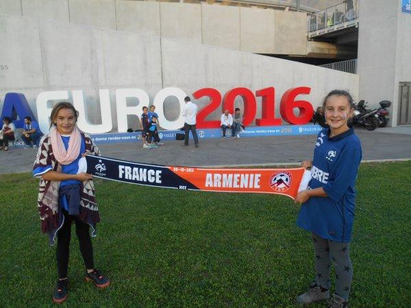 suite et FIN  :: FRANCE / ARMENIE :: 4 à 0