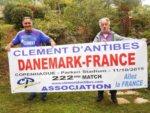 39 éme pays !!!! ...de visité a travers 4 continents pour ce : DANEMARK / FRANCE