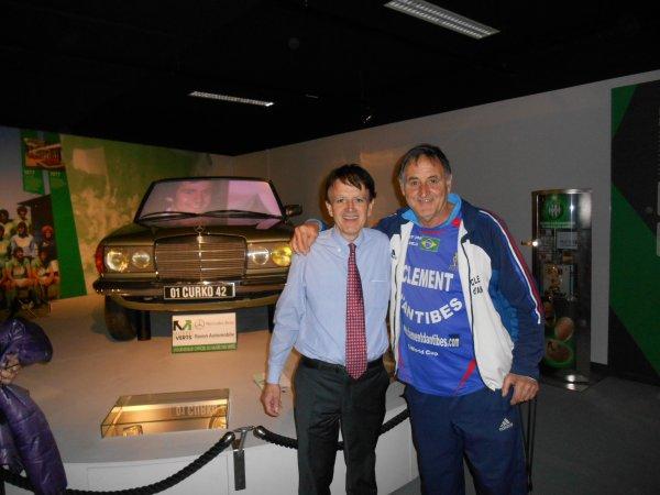 visite du MUSEE des VERTS  à St Etienne ..avec mon ami Philippe GESTAL