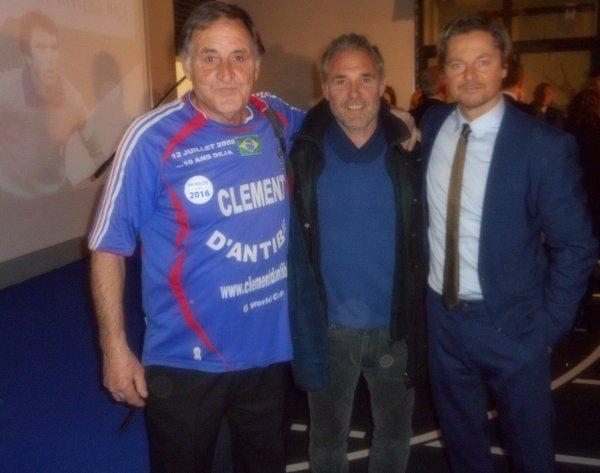 avec l'ambassadeur de Pologne , et le Président de la fédération POLONAISE DE fOOTBALL ...ET 2 3 L2GENDES 44 DE 1984 §§