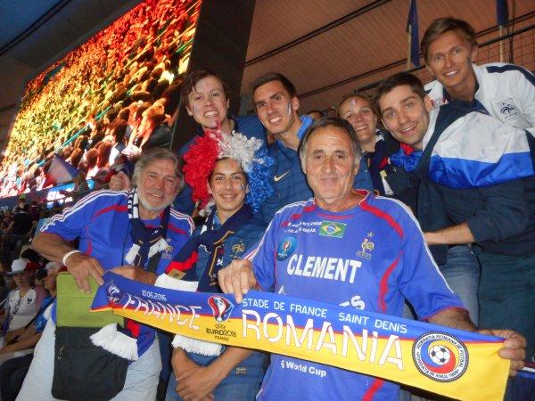 6éme EURO (( et dernier ..car 68 ans !! )) et 228 éme match (( et 20éme match en 6 EURO )) avec tous mes amis , et avec MON COQ  BALTHAZAR  ...mais hélas , privé de stade !!!