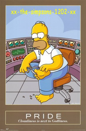Homer se coupe les ongles