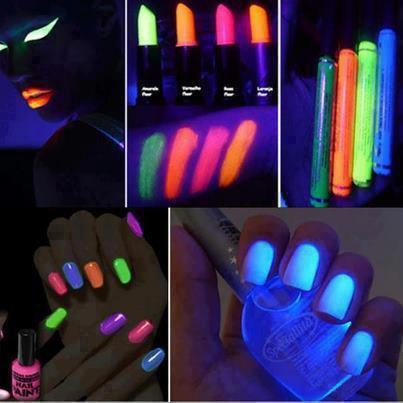 Le make up Fluorescent.. ♥