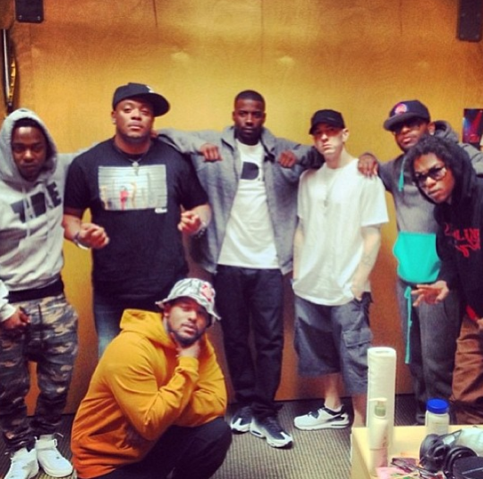 Eminem & Kendrick Lamar & ScHoolboy Q & Ab-Soul & Jay Rock
