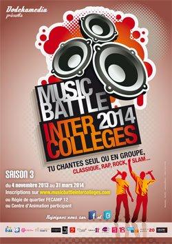 Music Battle Inter Colleges : Le retour !