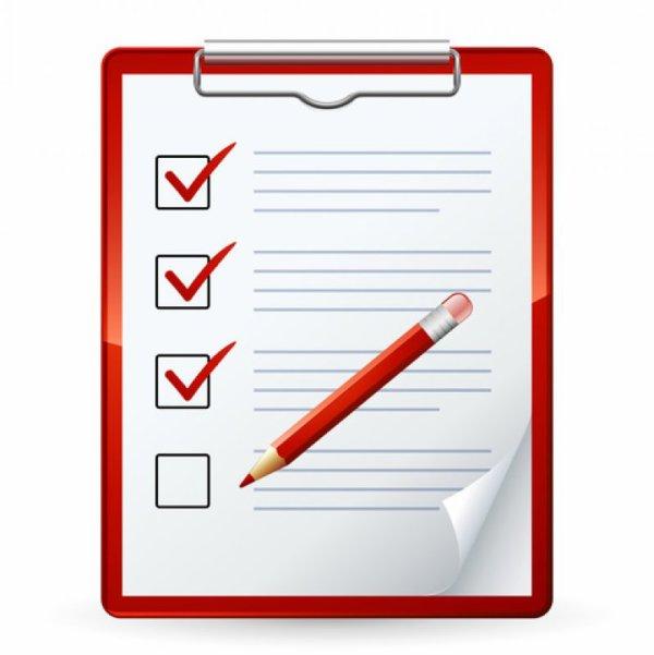 Liste des choses à faire avant SA venue :)