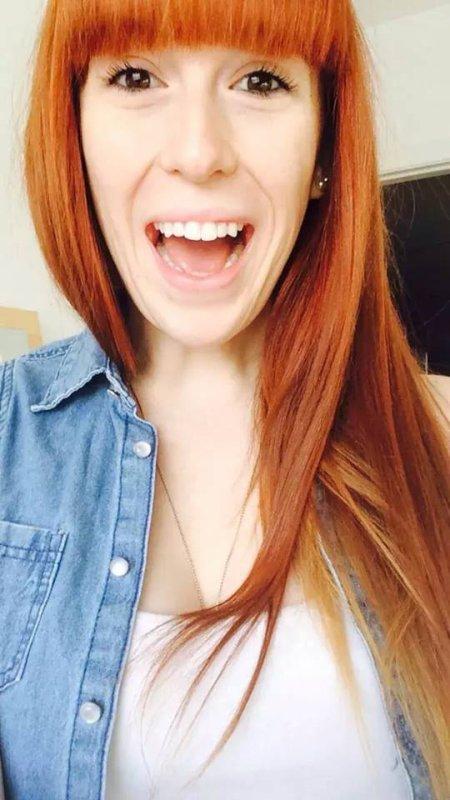 imma redhead