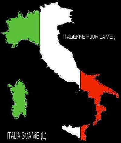 ITALiA SM`ES 0RiGiNES , SM`0N UNiVERS , SM`A ViE , SM`0N PAYS , C`EST LE SANG QUi C0ULE DE MES VEiNES , ITALiE SA NiKE TOUT ;  ITALiE S`Ai LES MEiLLEURE ; T0KAASS ITALiENNE REPREZENTEE ET Si T`Ai PAS KONTENT(E) VAFANCOULO ;)