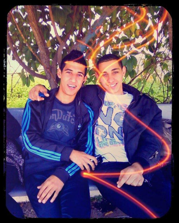 Avec Yacine ♥
