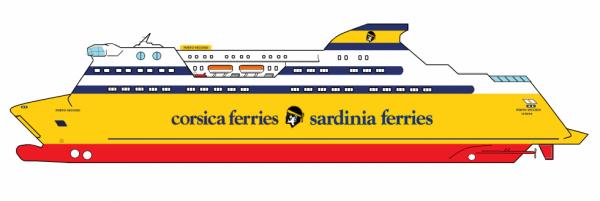 Aux couleurs de la Corsica Ferries