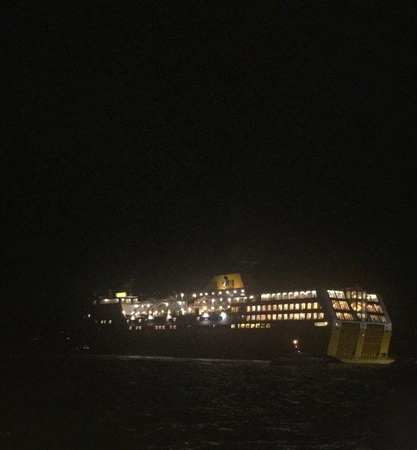 Mega express de nuit, Porto-Vecchio, été 2021