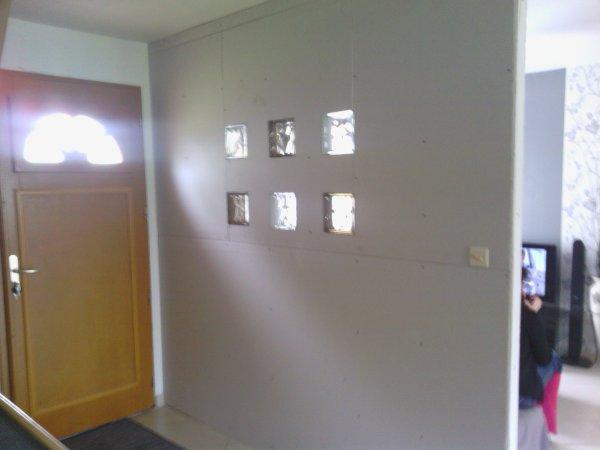 construction d\'une cloison dans le salon - Blog de notremikit62860