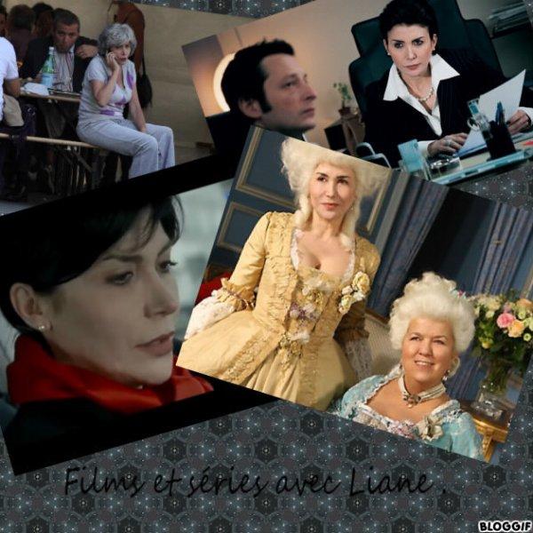 Films et séries avec Liane Foly.