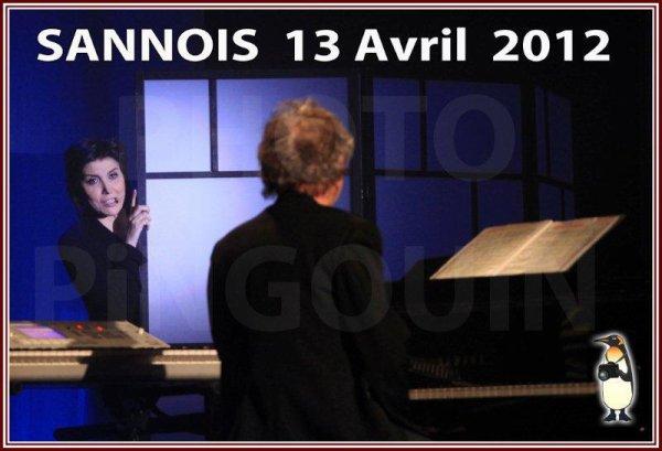 Sannois, instantanées de tournées Liane Foly.