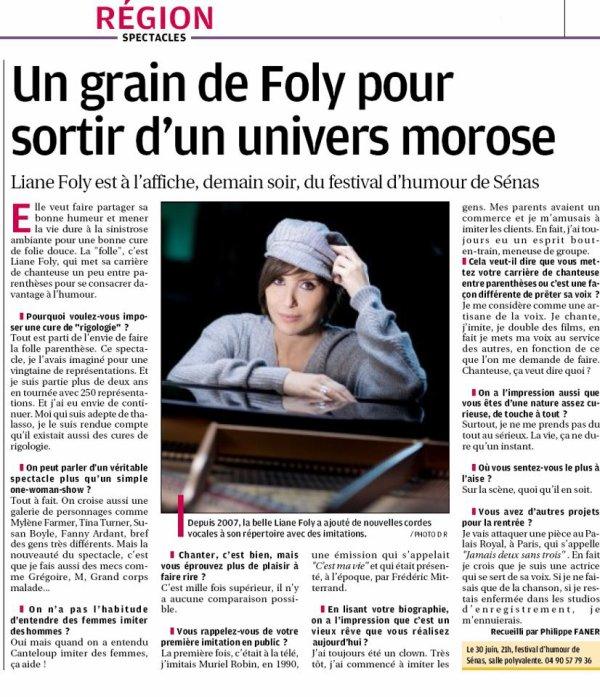 Un grain de Foly - pour sortir d'un univers Morose