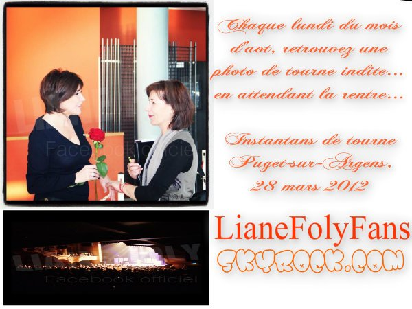 Liane Foly - Photos Tournée