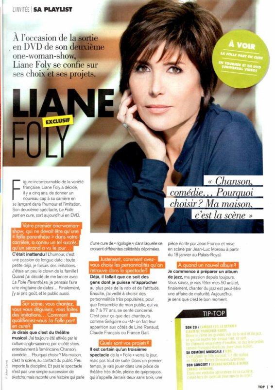 Liane Foly et sa folie !