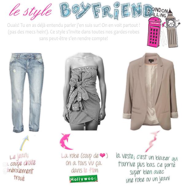 Le style Boyfriend