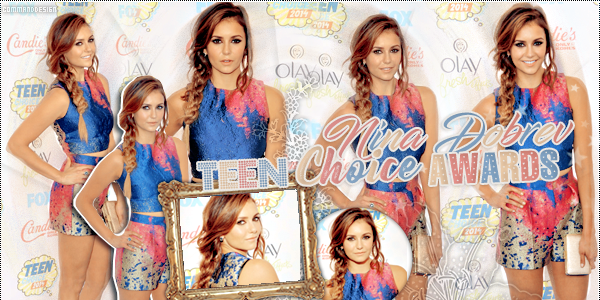 Nina Dobrev Teen Choice