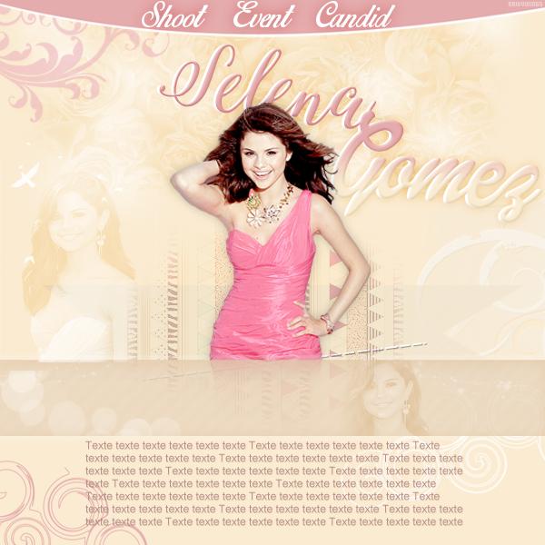 Layout Selena Gomez