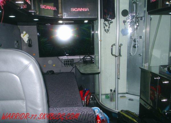 24 heures su mans camion 2010 ma passion pour les camions for Interieur scania longline