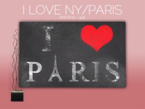 I love NY-Paris