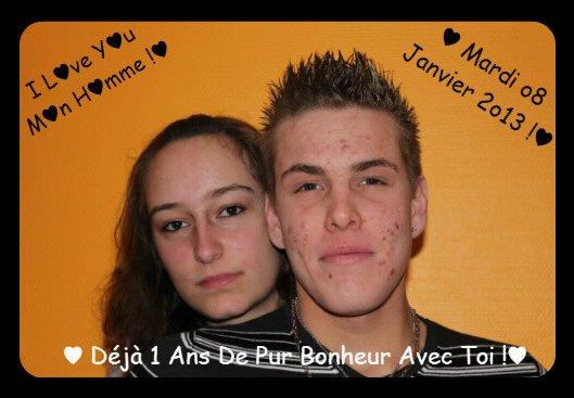 ♥♥ 1 Ans Avec Homme ♥♥ Un Pur Bonheur ♥♥