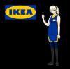 Gijinka ~ IKEA