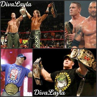 John Cena et la WWE.