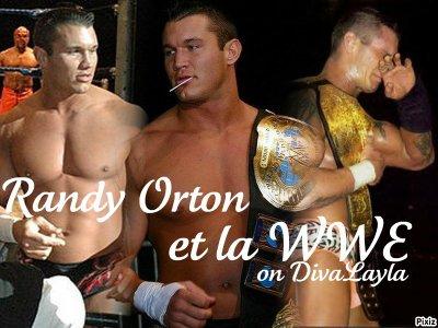 Randy Orton et la WWE.