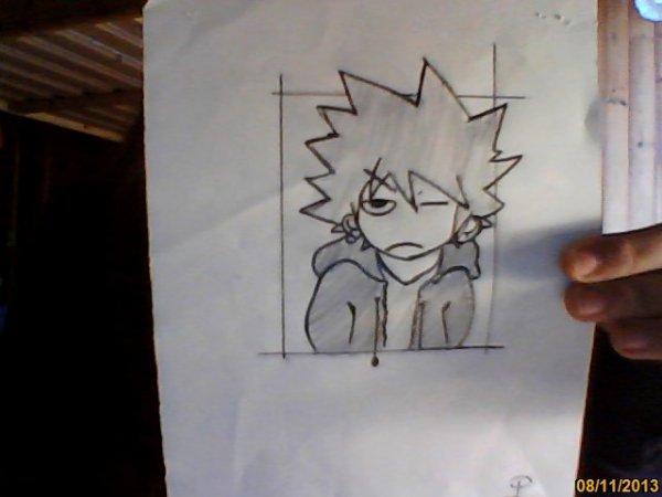un dessin manga
