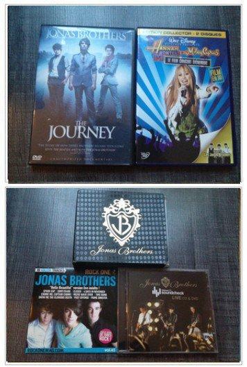 ::  :Divers DVD et albums: