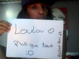 Mon Loulou <3 !