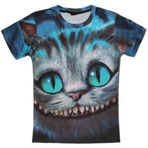 Cheshire tee-shirt.